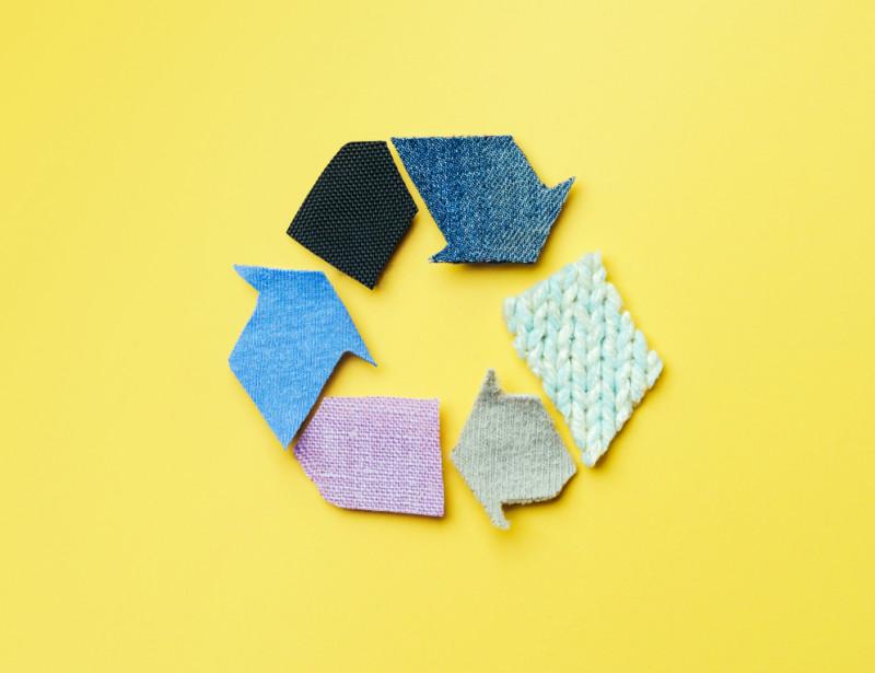 Recyclage tissu Domotex